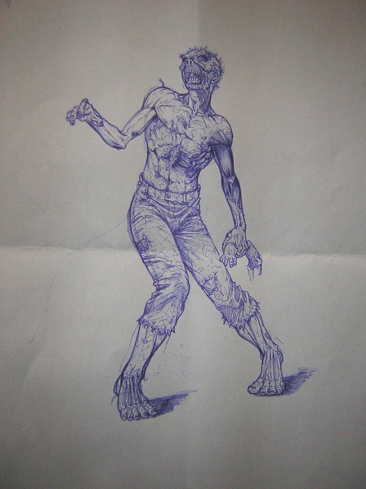 Comment dessiner un zombie - Comment dessiner un zombie ...
